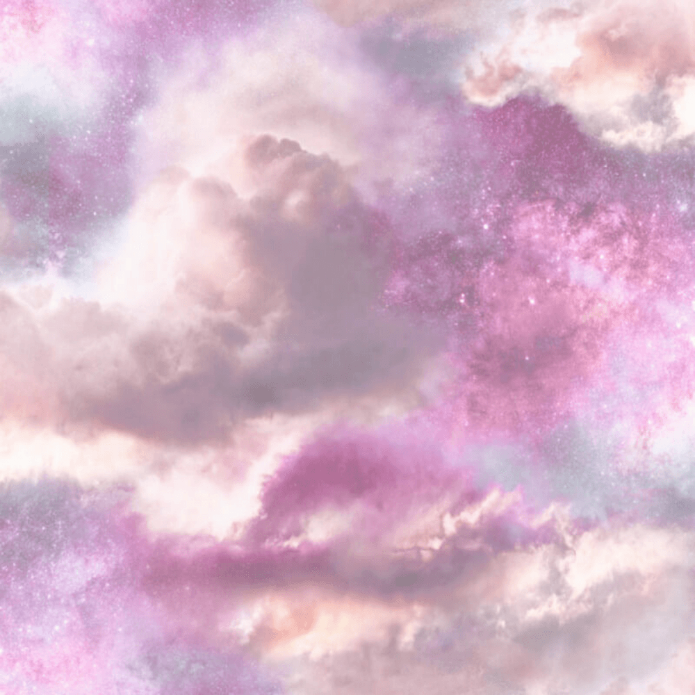 Blush Diamond Galaxy Glitter Cloud Pink Purple Wallpaper 260009