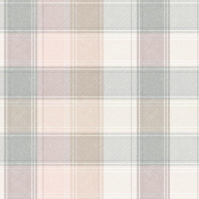 Country Check Pink Amp Grey Tartan Wallpaper 901900