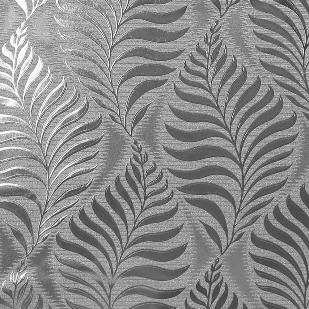 Arthouse Metallic Reflective Foil Leaf Silver Wallpaper