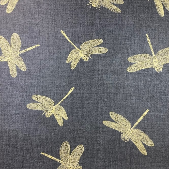 AS Creation Black And Gold Dragonfly Luxury Wallpaper 35897-3