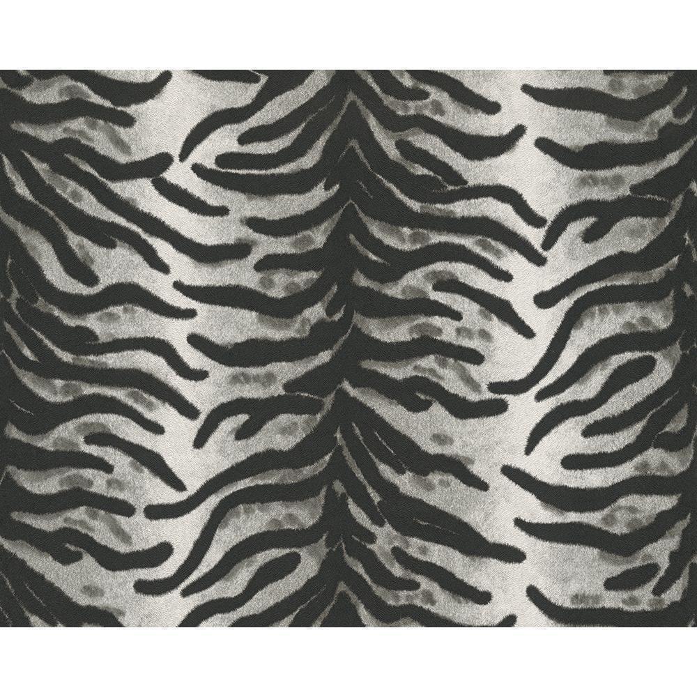 Black And White Zebra Animal Print Wallpaper 6632 21