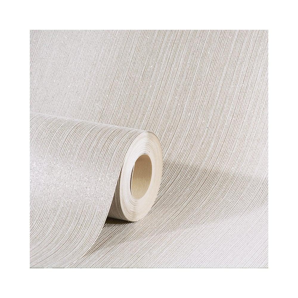 AS Creation Omega Pearl Glitter Plain Stripe Wallpaper 34861-2 ...