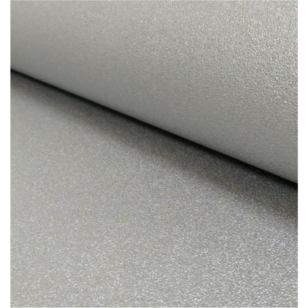 Silver Metallic Gloss Chic Plain Wallpaper 2211 24
