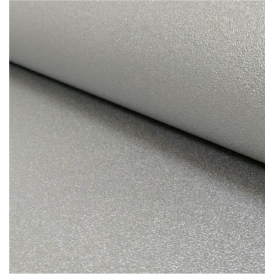 Silver Metallic Gloss Chic Plain Wallpaper 2211-24