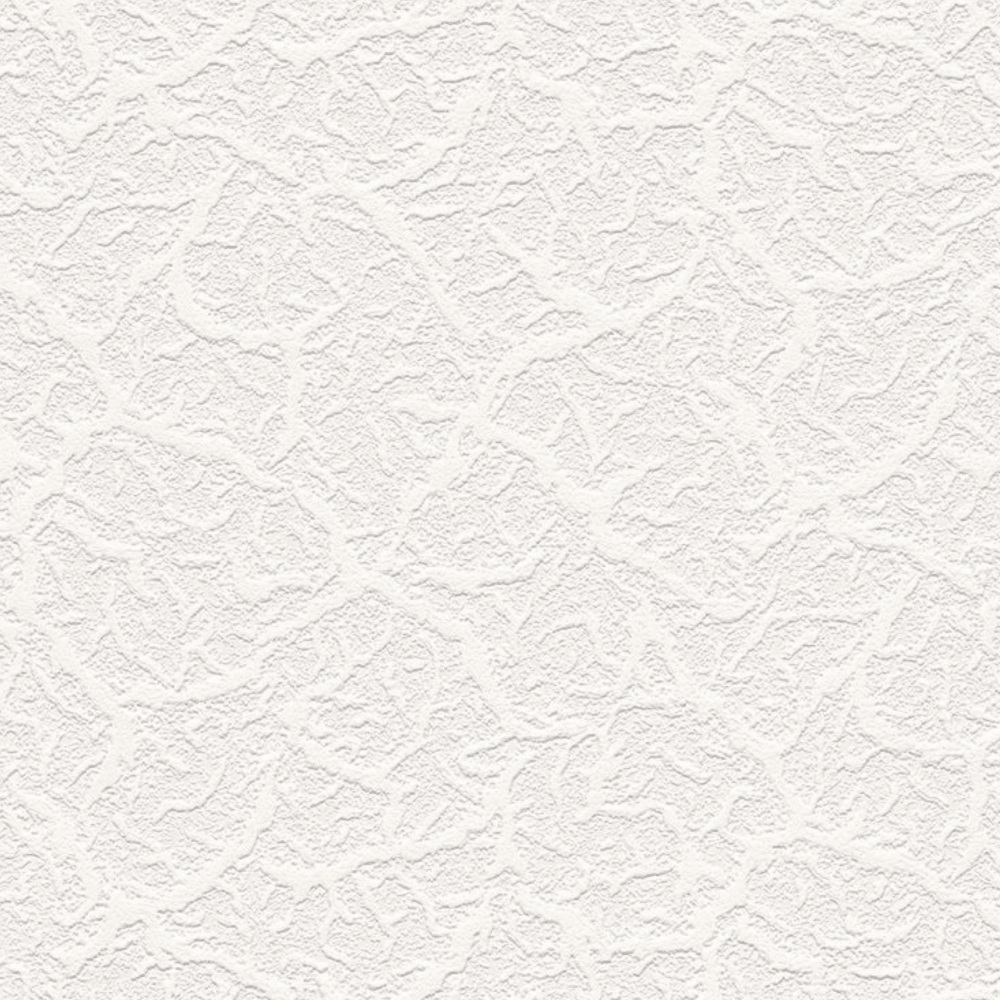 AS Creation Textured White Blown Paintable Embossed ...