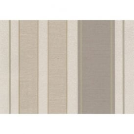 Lazio Beige And Gold Glitter Stripe Wallpaper 1406