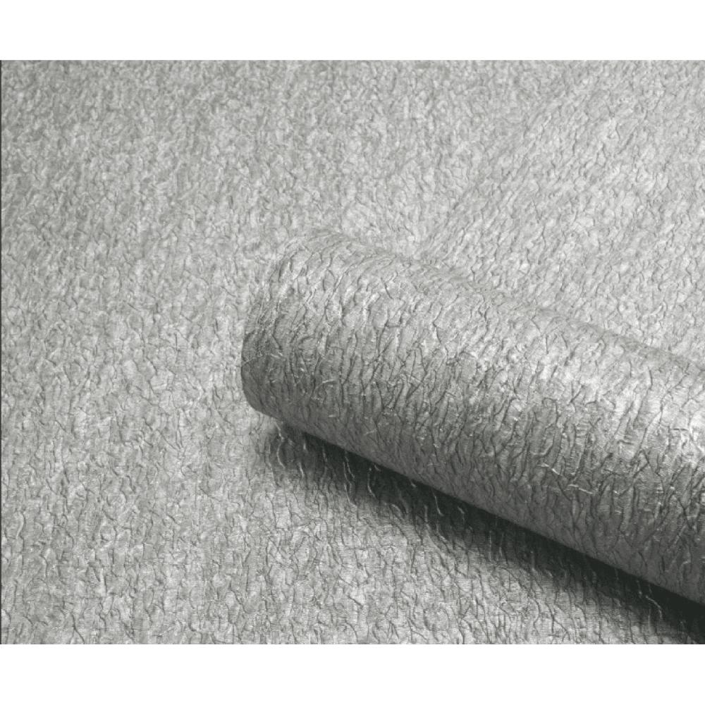 Belgravia Seriano Corelli Silver Plain Textured Wallpaper 7796