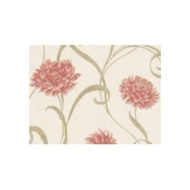 Seriano Finezza Red Floral Italian Wallpaper 6133