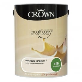 Crown 5L Antique Cream Silk Paint