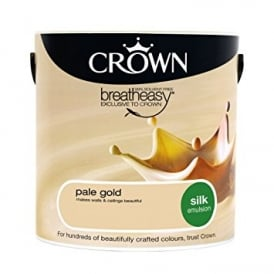 Crown 5L Pale Gold Silk Paint