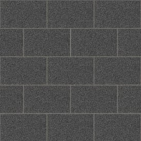 Crown London Tile Black Glitter Kitchen And Bathroom Wallpaper m1055