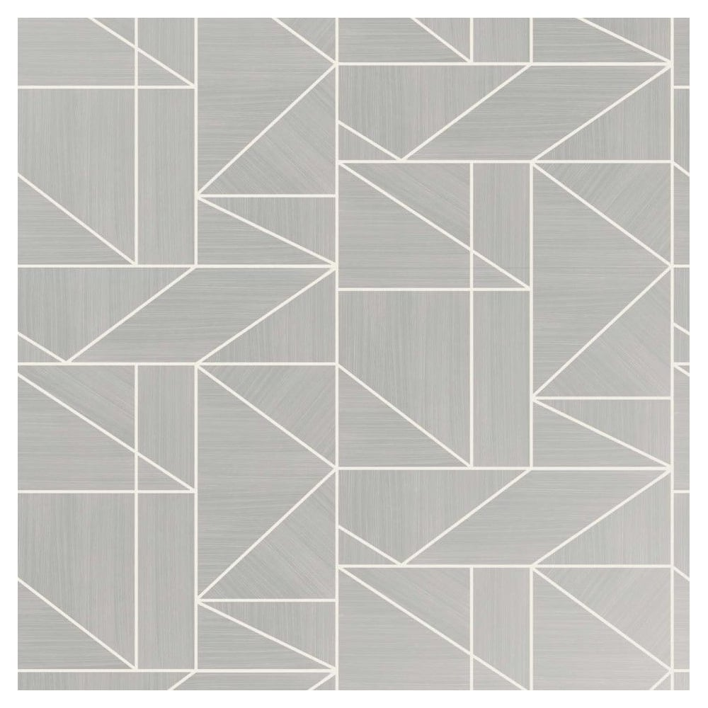 crown wallpaper alexis silver geometric wallpaper m1381