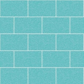 Crown London Tile Aqua Glitter Kitchen And Bathroom Wallpaper m1122