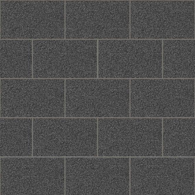 Crown Wallpaper Crown London Tile Black Glitter Kitchen