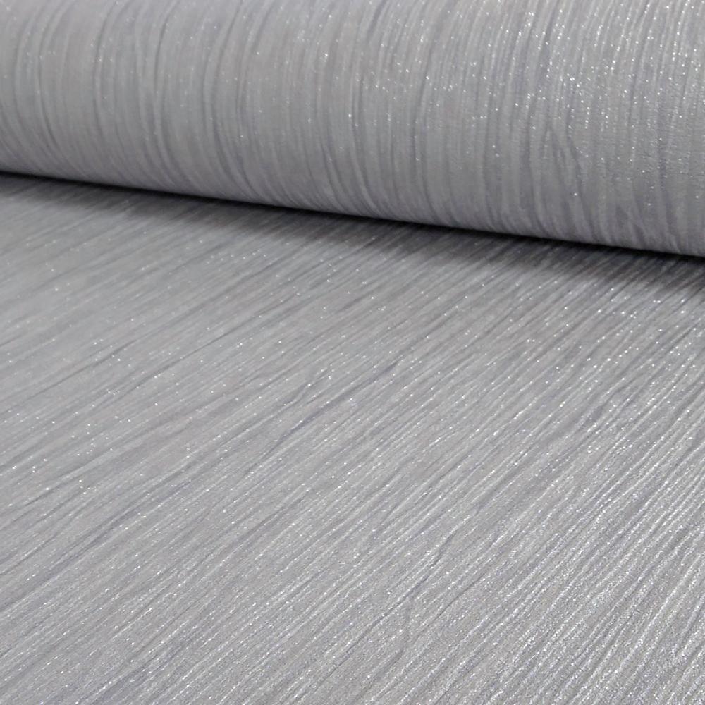 Crystal Glitter Silver Plain Wallpaper 9001