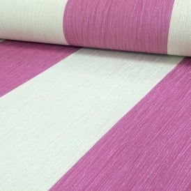 Crystal Glitter Stripe Pink And Ivory Wallpaper 9014