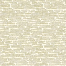 Ceramica Cream Glitter Slate Kitchen And Bathroom Wallpaper Fd41472