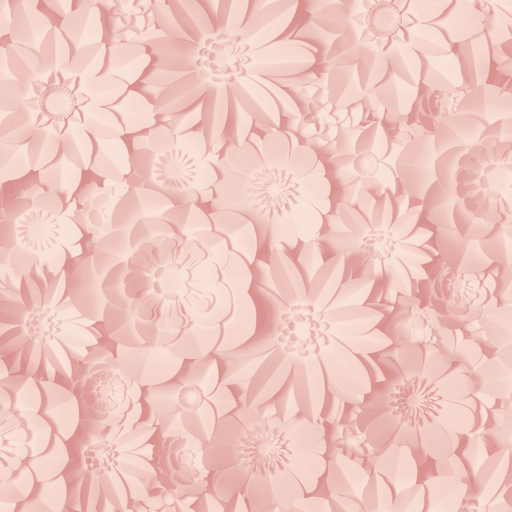 Dimensions Pink Floral Wallpaper Fd42555
