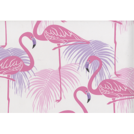 Flamingo Pink And Purple Wallpaper FD42214