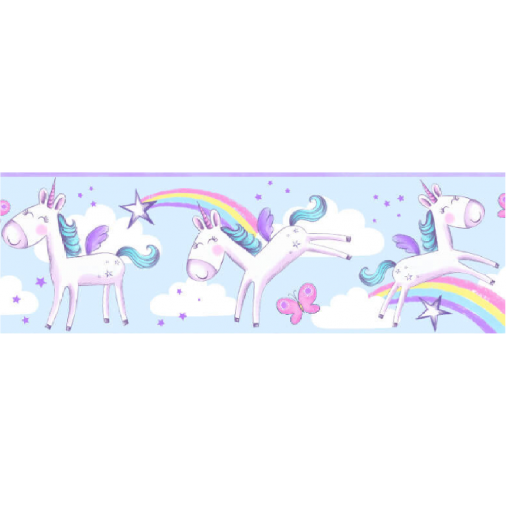 Fine Decor Girls Unicorn Border Wallpaper Bo41911 Uncategorised