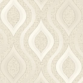 Quartz Cream Glitter Geometric Wallpaper Fd41973