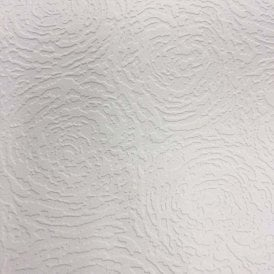Rose Swirl Paintable White Blown Wallpaper FD30906
