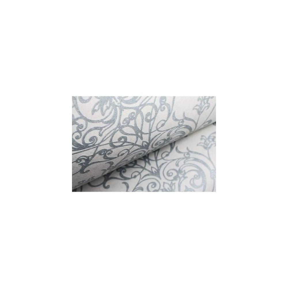 Empress Duck Egg And White Damask Wallpaper 103268