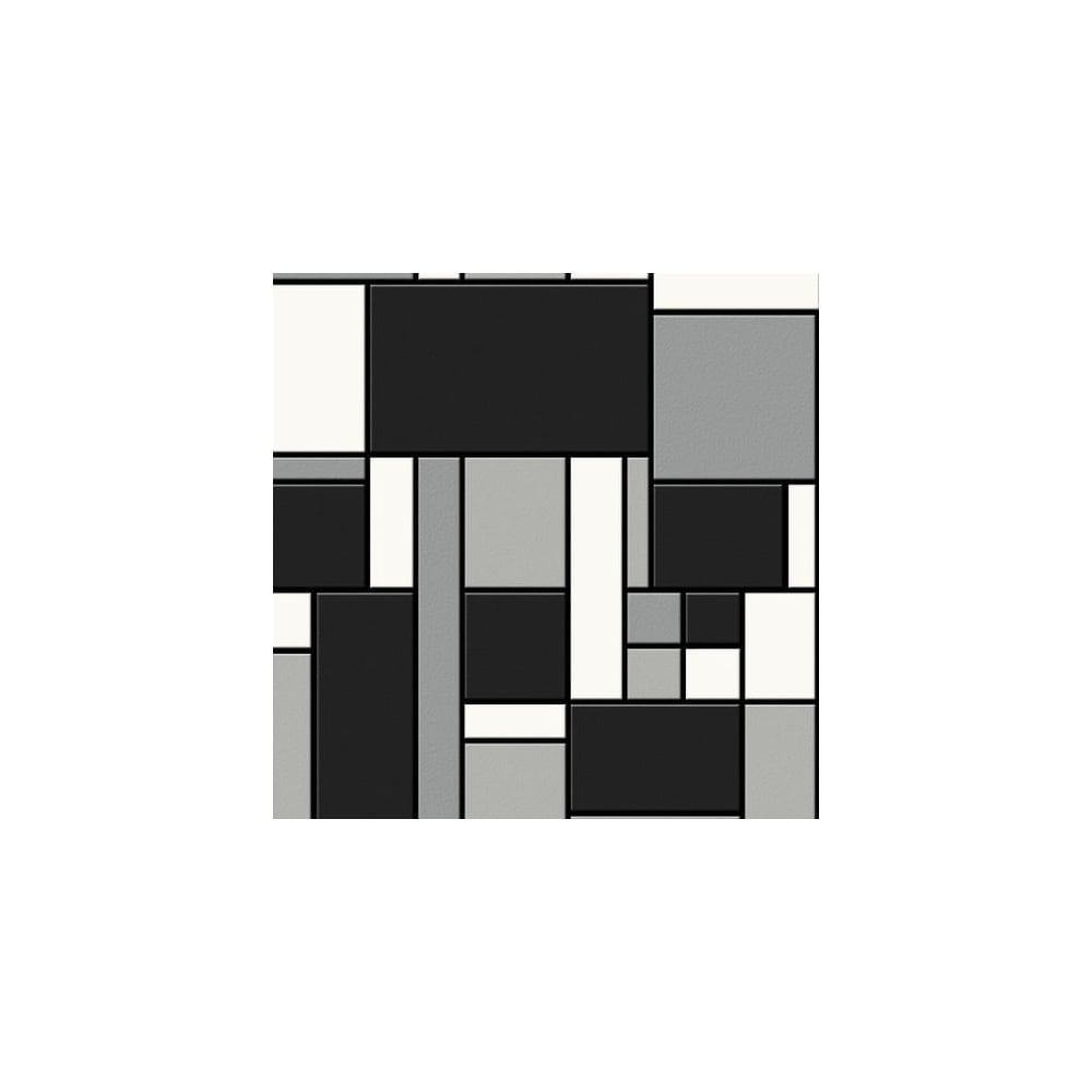 Graham And Brown Geometric Black White Tile Kitchen And Bathroom ...