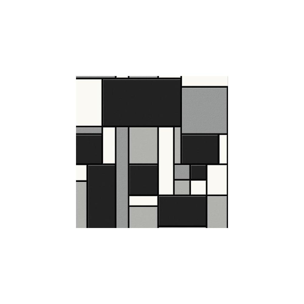 Black White Kitchen Wallpaper: Graham & Brown Geometric Black White Tile Kitchen And