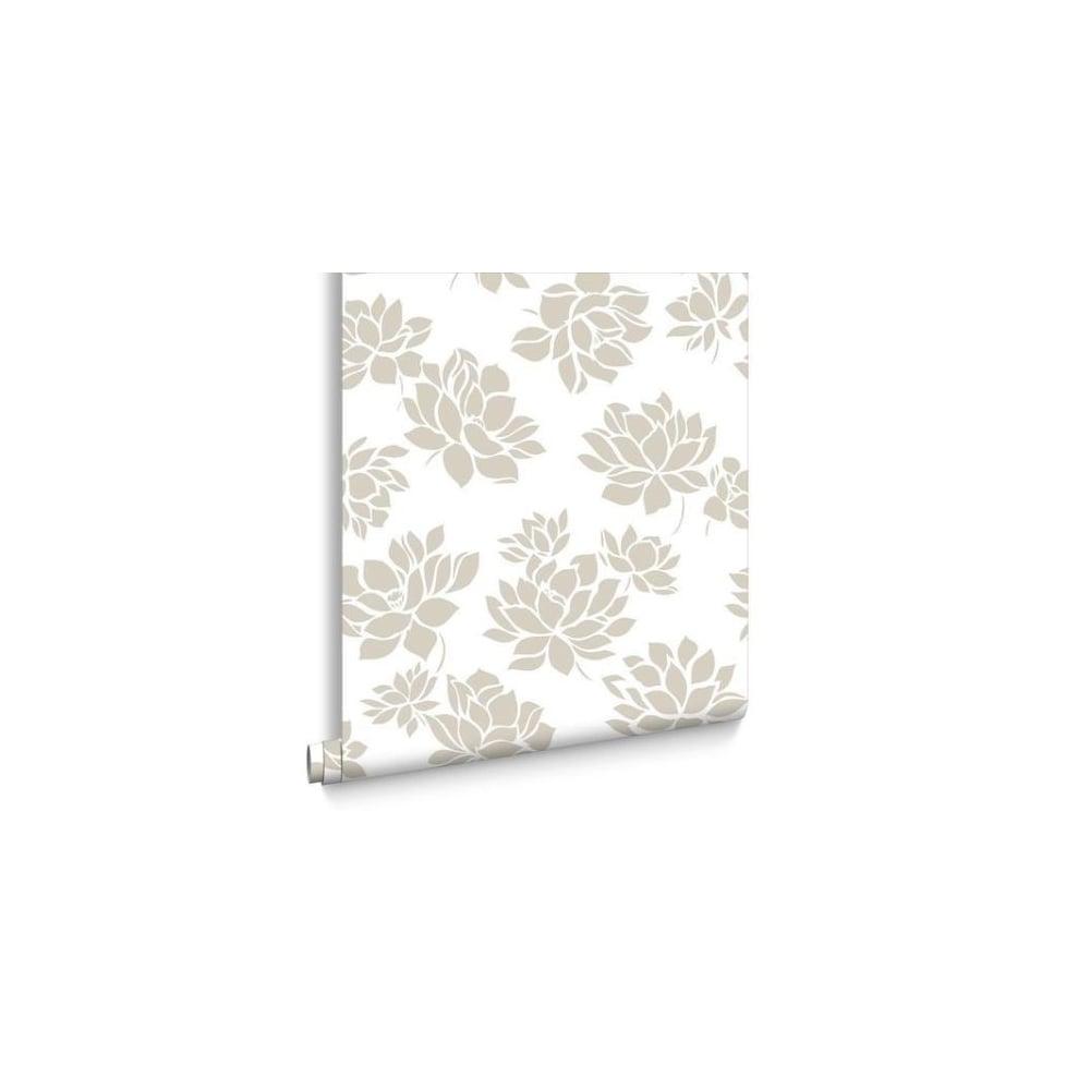 Lotus Gold Flower Wallpaper 103271