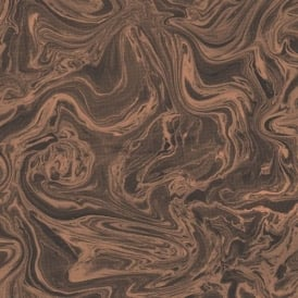 Marbled Charcoal And Rose Gold Wallpaper 100538