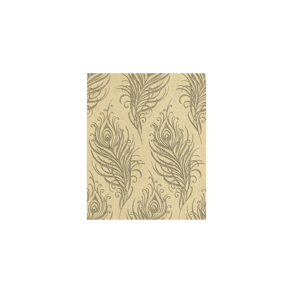 graham and brown quill swaying leaf metallic gold and. Black Bedroom Furniture Sets. Home Design Ideas