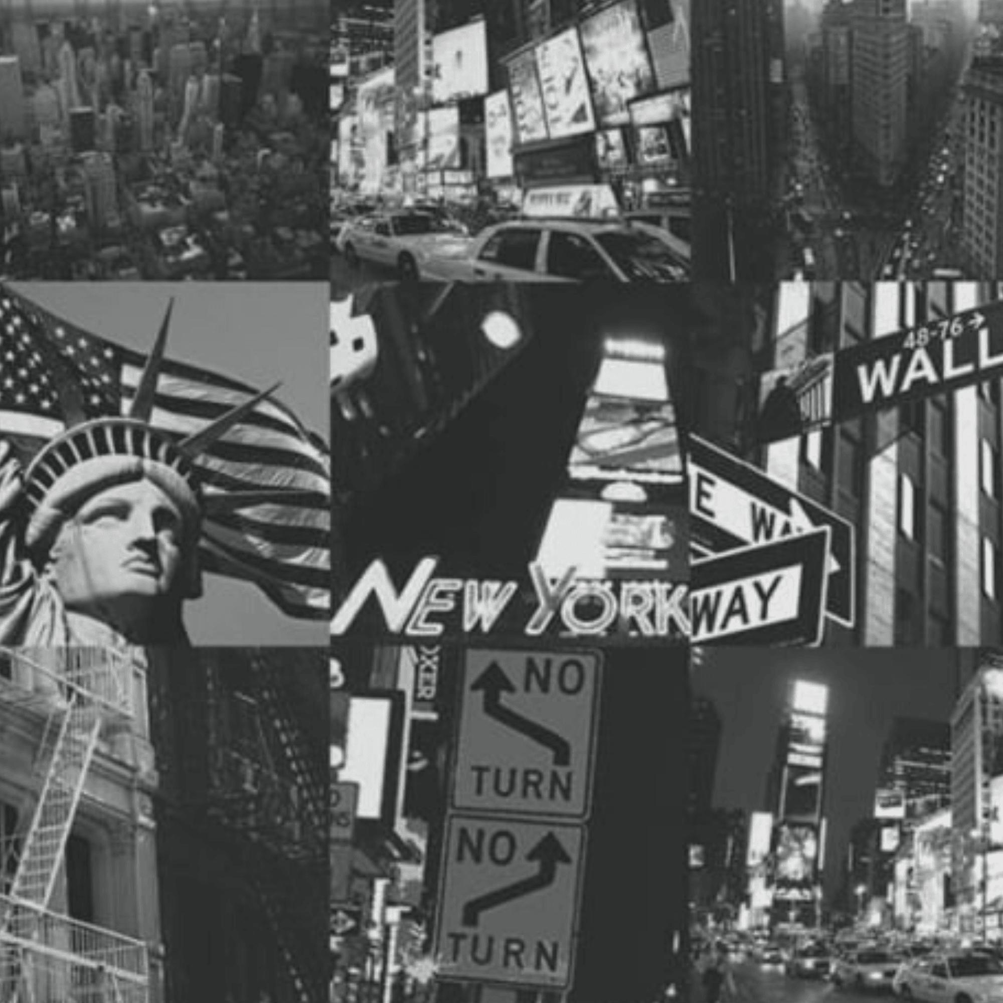 Graham Brown Fresco New York City Black And White Wallpaper 50