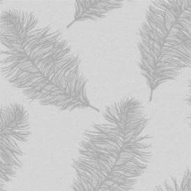 Fawning Grey And Silver Feather Wallpaper 12626
