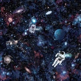 Intergalactic Galaxy Astronaut Space Wallpaper Kids 12500
