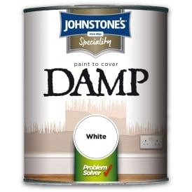Johnstones 2.5L Speciality Damp Proof Paint White