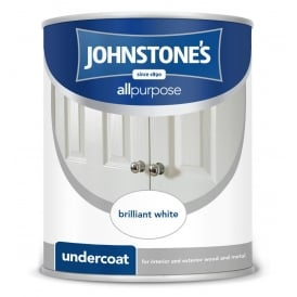 Johnstones Brilliant White 1.25l Undercoat Paint