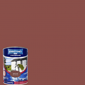 Johnstones Masonry Red Brick Weatherguard Paint 10 Year 5L