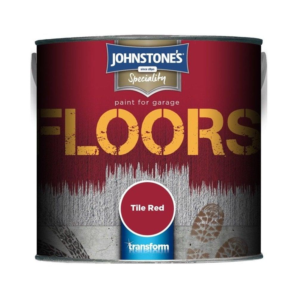 Johnstones Tile Red Floor Paint 25l Uncategorised From Wallpaper