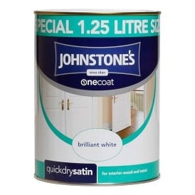 Johstones 1.25l One Coat Quick Dry Satin