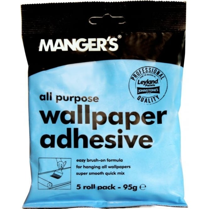 Mangers 5 Roll Wallpaper Adhesive Paste