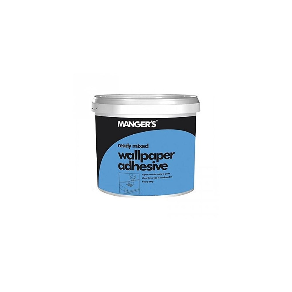 Mangers Ready Mixed Wallpaper Adhesive Glue Paste 1kg