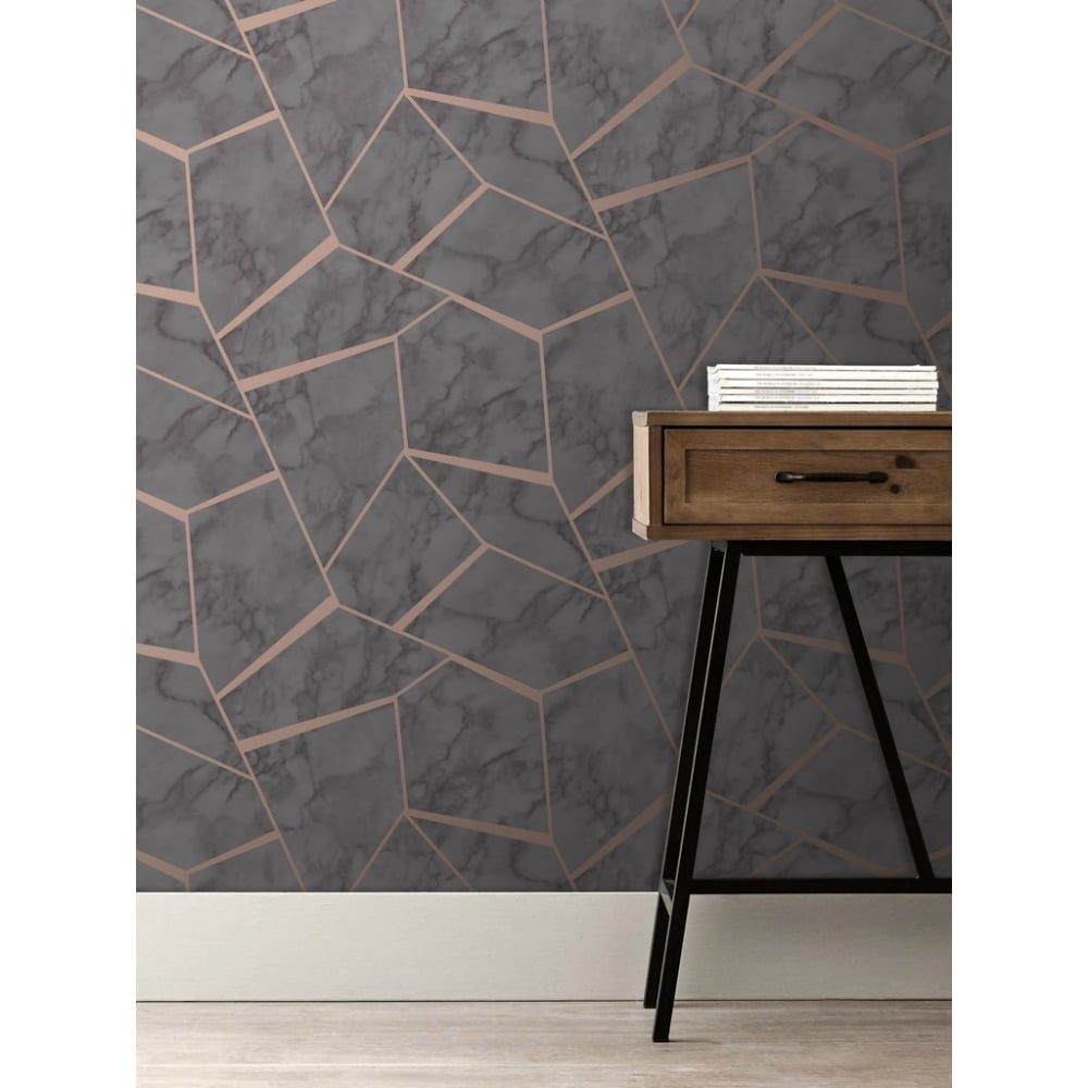 Most Inspiring Wallpaper Marble Metallic - marblesque-fractal-rose-gold-and-charcoal-metallic-geometric-wallpaper-fd42266-p6148-2171_image  You Should Have_76818.jpg