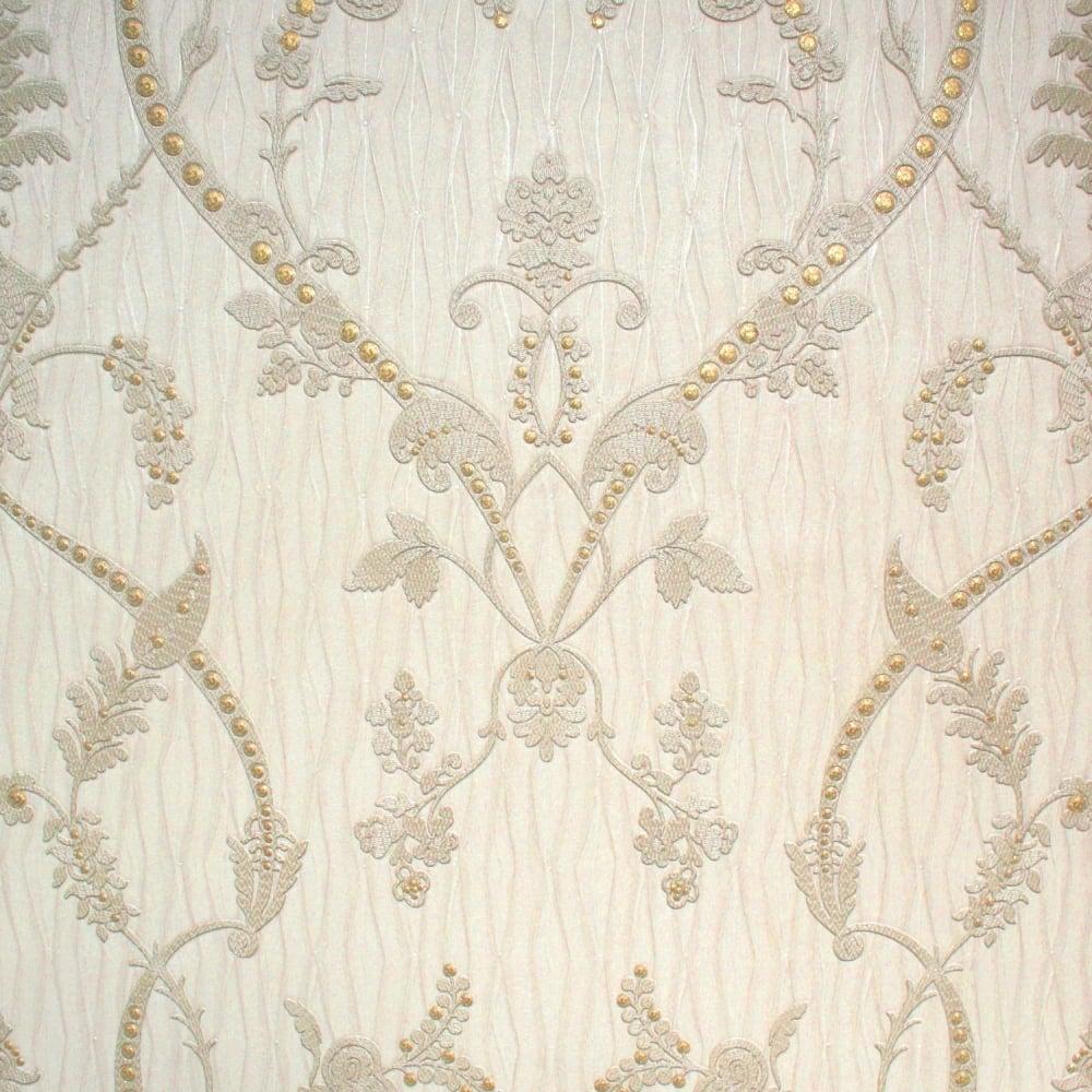 Monika Italian Damask Cream Wallpaper 9362 Uncategorised