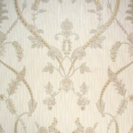 Monika Italian Damask Cream Wallpaper 9362