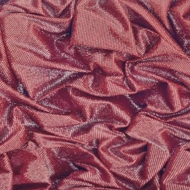 Crushed Red Glitter Sparkle Satin Wallpaper L14210