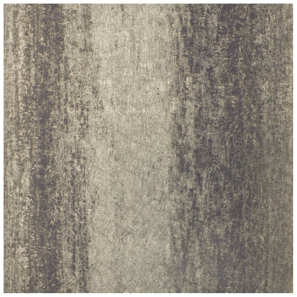 Sienna Stripe Ombre Black And Gold Metallic Wallpaper 701592