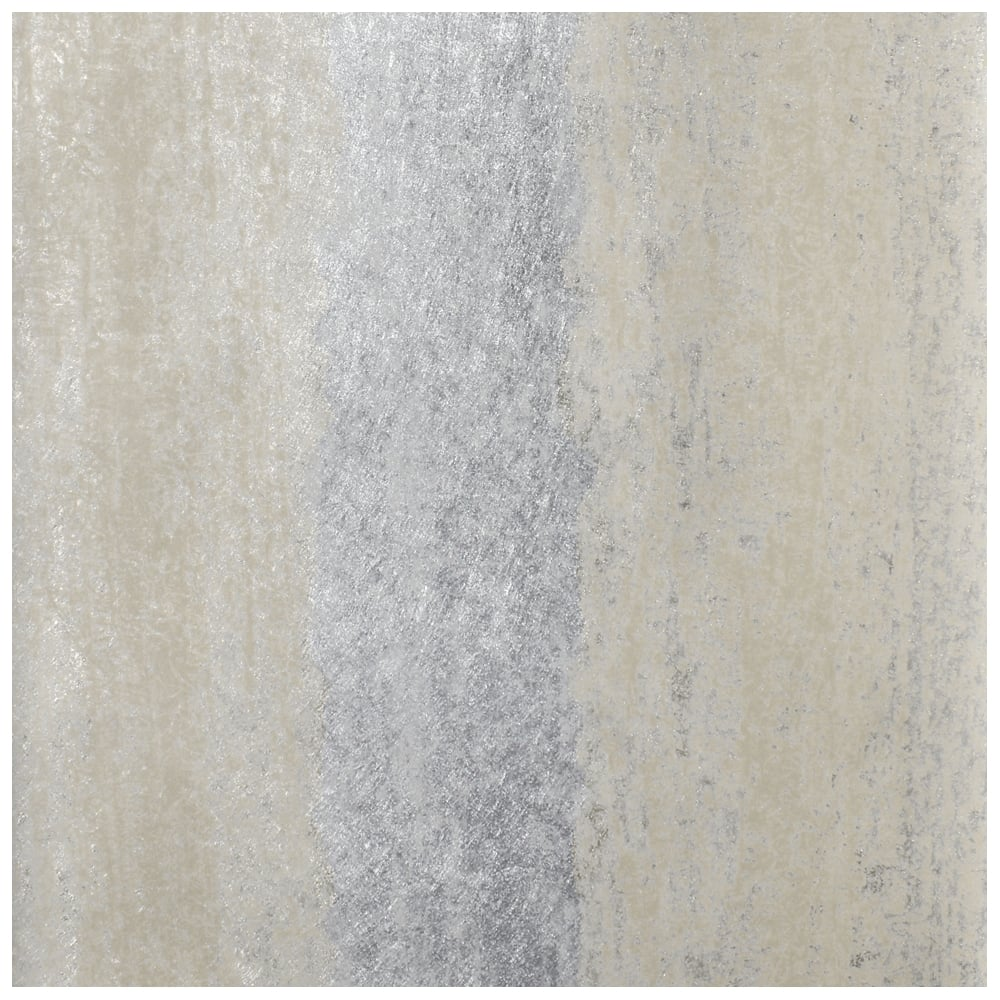 Sienna Stripe Ombre Silver And Gold Metallic Wallpaper 701591