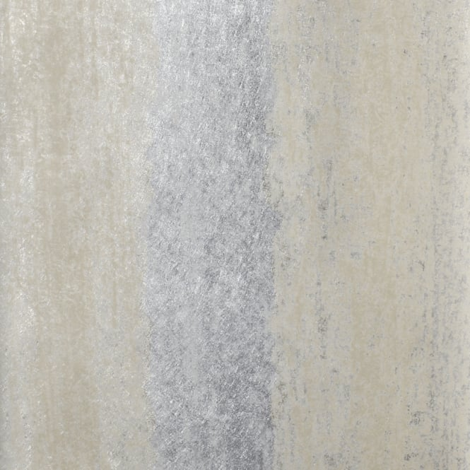 Muriva Sienna Stripe Ombre Silver And Gold Metallic Wallpaper 701591
