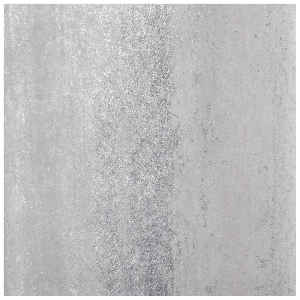 Sienna stripe ombre silver metallic wallpaper 701590